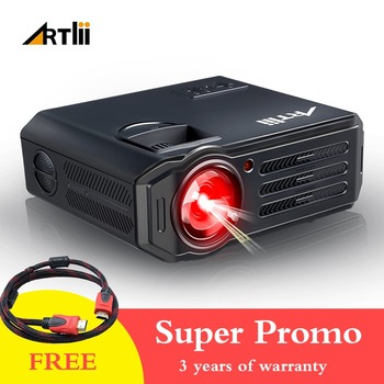 LED Video Projector Home Theater HD Projector Multimedia for Movies, Games, Match and Party, LCD Movie Projector