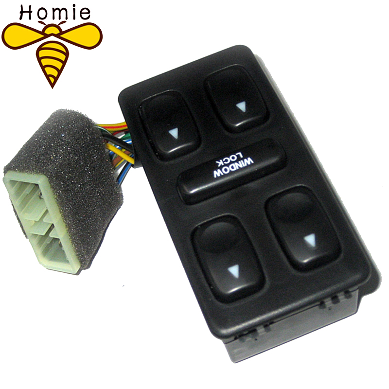 New Front Left Driver Side Electric Power Master Window Switch For 1992 1993 1994 Hyundai Elantra Galloper acdelco 11p39 professional front driver side power window switch