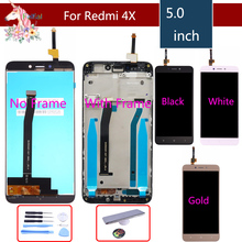 Original Display For XIAOMI Redmi 4X LCD Touch Screen with Frame Replacement touch Screen For xiaomi Redmi 4X LCD Display+Gift