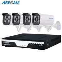Caliente 4 canales 1920 p CCTV cámara grabadora de vídeo DVR AHD 3MP hogar sistema de cámara de seguridad al aire libre conjunto de vídeo vigilancia P2P