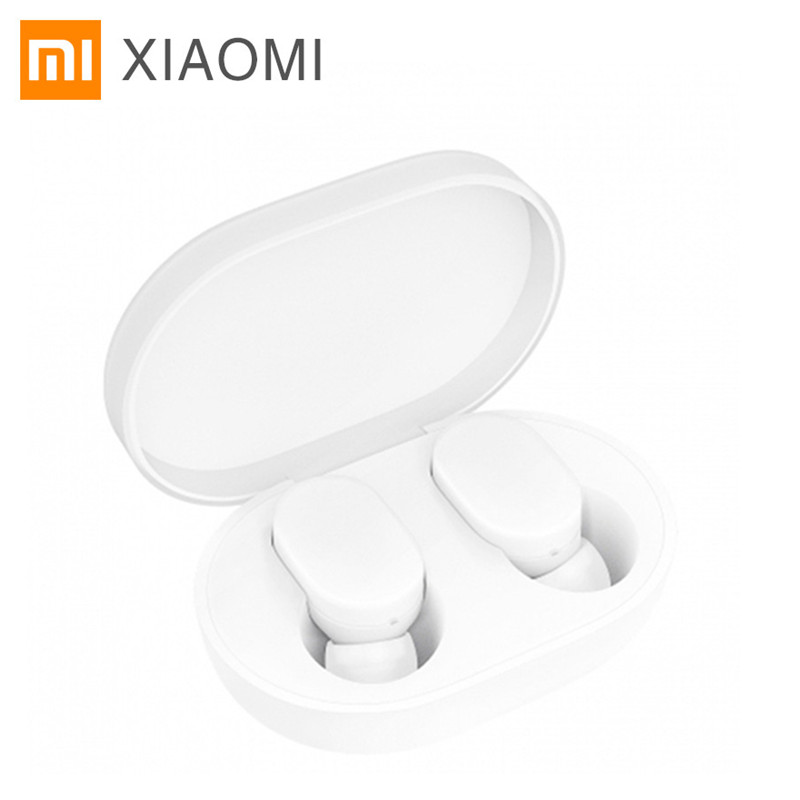Newest Xiaomi AirDots Bluetooth Earphone TWS Headset Earbuds Handsfree Smart AI Control Mijia Mi Headphones xiaomi tws airdots bluetooth earphone youth version stereo bass bt 5 0 headphones mic handsfree earbuds ai control