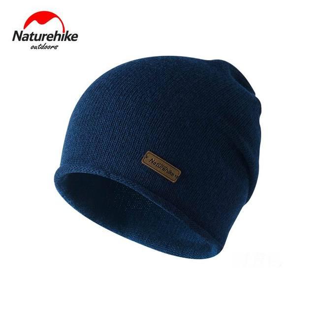 Outdoor Unisex Knitted Cap UV Cotton Wool Warm Winter Hat Ultralight Man  Running Hats Woman Caps 9f175eca13b