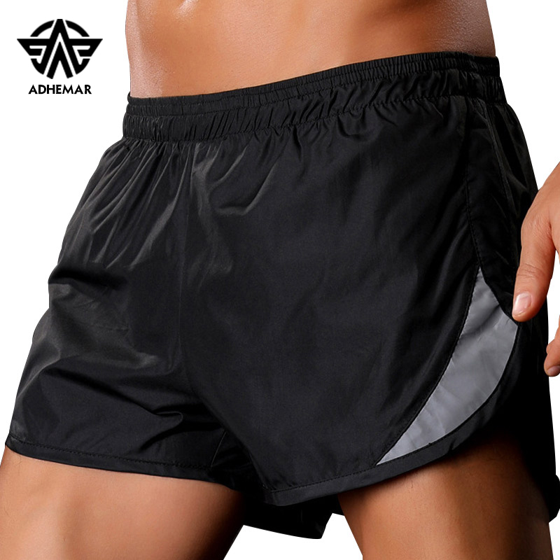 Adhemar professional running shorts for men quick drying and breathable leggings gym shorts male