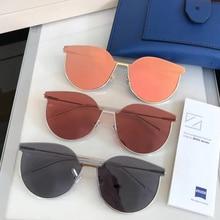 Нежный дизайнер дамы Gianna Jun солнцезащитные очки для женщин Разноцветные очки Solaris Защита от солнца очки Винтаж Женский солнцезащитные очки для