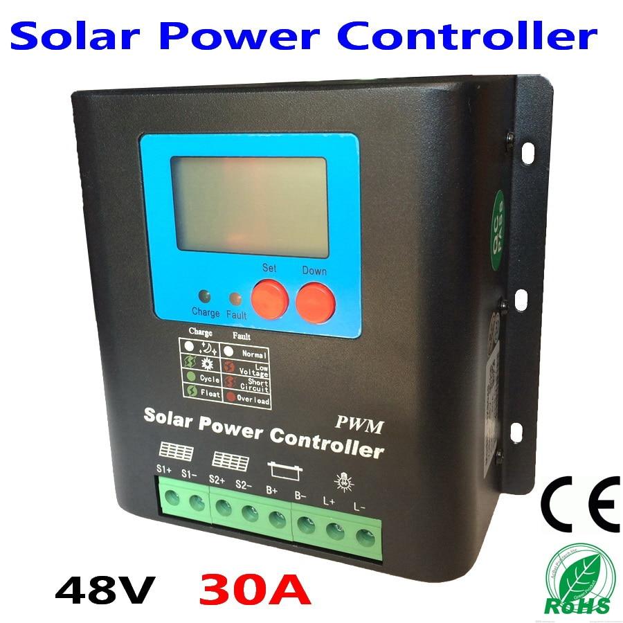 48V 30A Intelligent 48V Solar Charge Controller for Solar power system solar power controller 48v 30a intelligent 48v solar charge controller for solar power system solar power controller