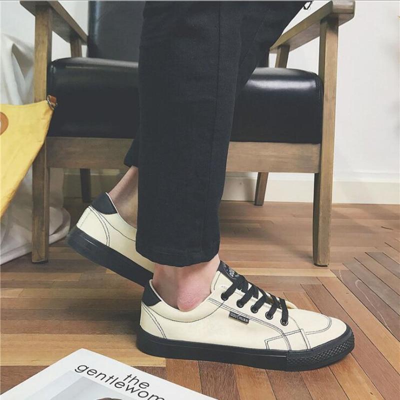 Fond Boeuf Port 2 De Automne Version Toile Hommes Tendance Étudiant Casual Chaussures Nouveau Tendon Coréenne 2018 Vent 3 1 WxSwF77