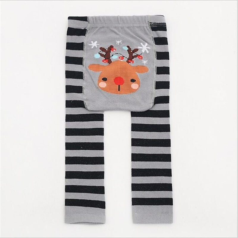 Lovely cozy Baby Leggings Infant Baby Boy Girl PP Pants Long Trousers toddler Kids Cartoon Animal print cotton clothes 0 to 24m