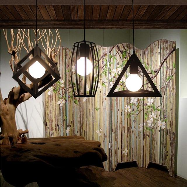 1 unids lámpara Café Bar negro luz industrial cocina antigua de ...