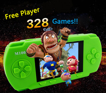 New Handheld Game Consoles 4 3 inch Colorful Display Game Console Free Player 238 Games Support
