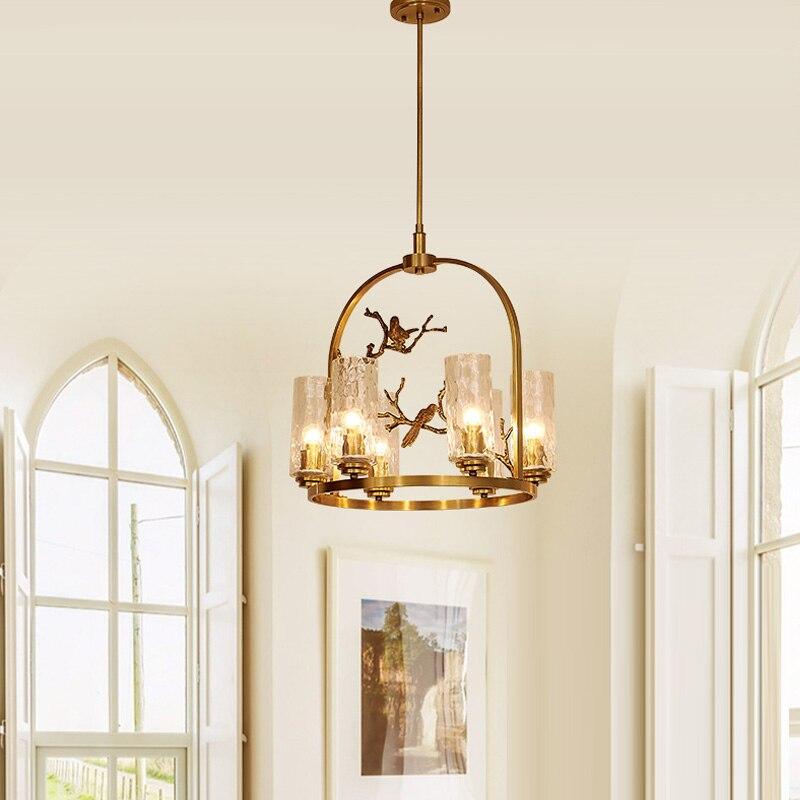 Copper Chandeliers Lamp