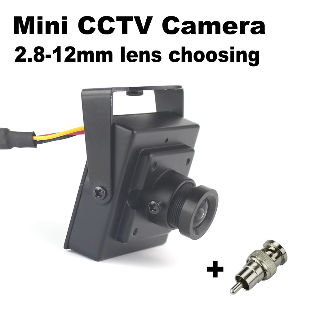 DONPHIA CCTV Camera Mini 900tvl 2.8mm 3.6mm 6mm 8mm 12mm lens Analog Camera Security Surveillance 700tvl 800tvl Storlek 35x35mm