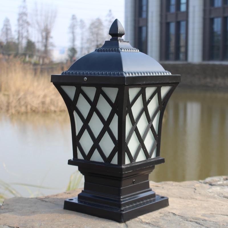 Fashion chairmanship caplights wall light lamp post outdoor waterproof door caplights the door fishing net lamp