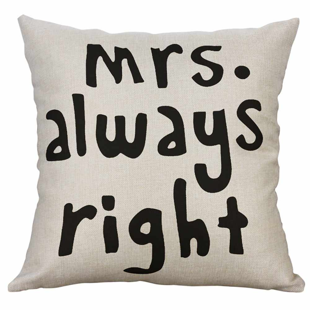 Фото Tenske льняная Наволочка на подушку любителей серии День Святого Валентина
