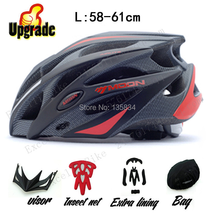 Upgrade Extra lining & Chin Pad Cycling Helmets Bicycle Head Protector Accessories Capacete Ciclismo Road Mountain Bike Helmet universal bike bicycle motorcycle helmet mount accessories
