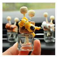car air outlet Car Air Freshener Puppy In the Car Air Conditioning Outlet Perfume Clip Aromather Fragrance Diffuser Auto Accessorie Car Perfume (2)