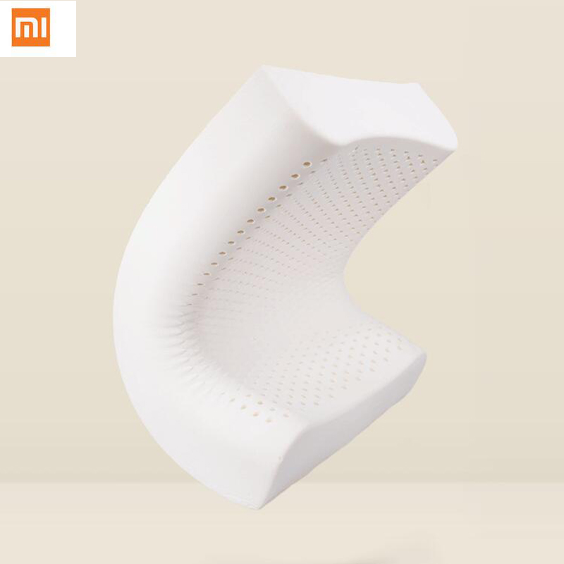 2017 Xiaomi 8H Pillow Z2 Natural Latex Elastic Soft Pillow Neck Protection Cushion best Environmentally safe material good sleep bebeconfort 30000709 2 sucettes natural physio latex t3 3 coloris