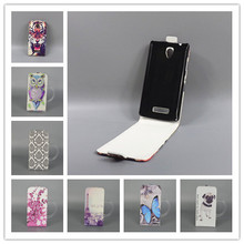 For Lenovo A1000 A 1000 Case on A1000 attern Cute PrintingVertical Flip Cover Open Down/up Back Cover filp leather case