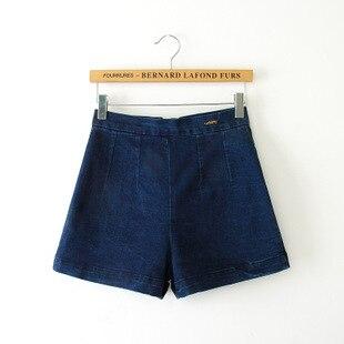 Aliexpress.com : Buy Vintage High Waist Straight Denim Shorts A ...