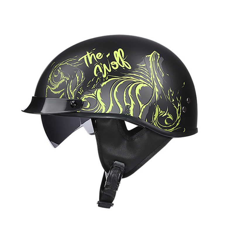 Hot Offer Verao Moto Rcycle Capacete Marca Voss Meio