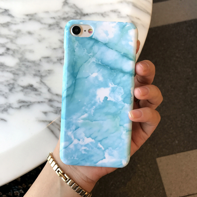 watch f6234 6daa1 US $4.58 |SZYHOME Phone Cases For iPhone 6 6s 7 Plus Case Luxury Blue Green  Marble Plastic For Apple iPhone 7 Plus Mobile Phone Cover Case-in ...