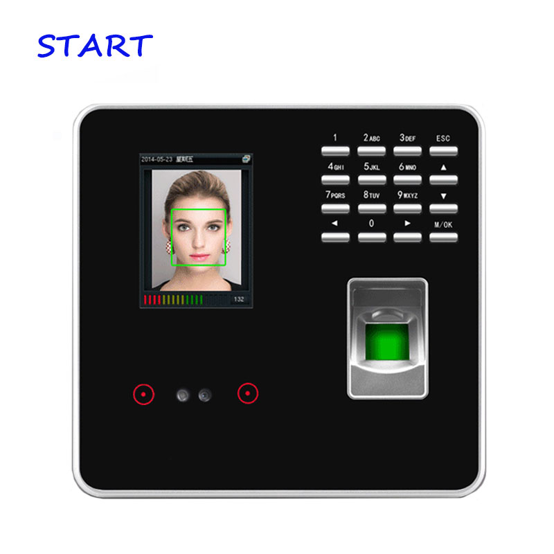 ZK FA200 WiFi Facial & Fingerprint Time Attendance Face Recognition Time Clock With Fingerprint Door Access