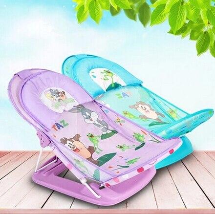 2016 new newborn portable plastic folding baby bath seat bath ...