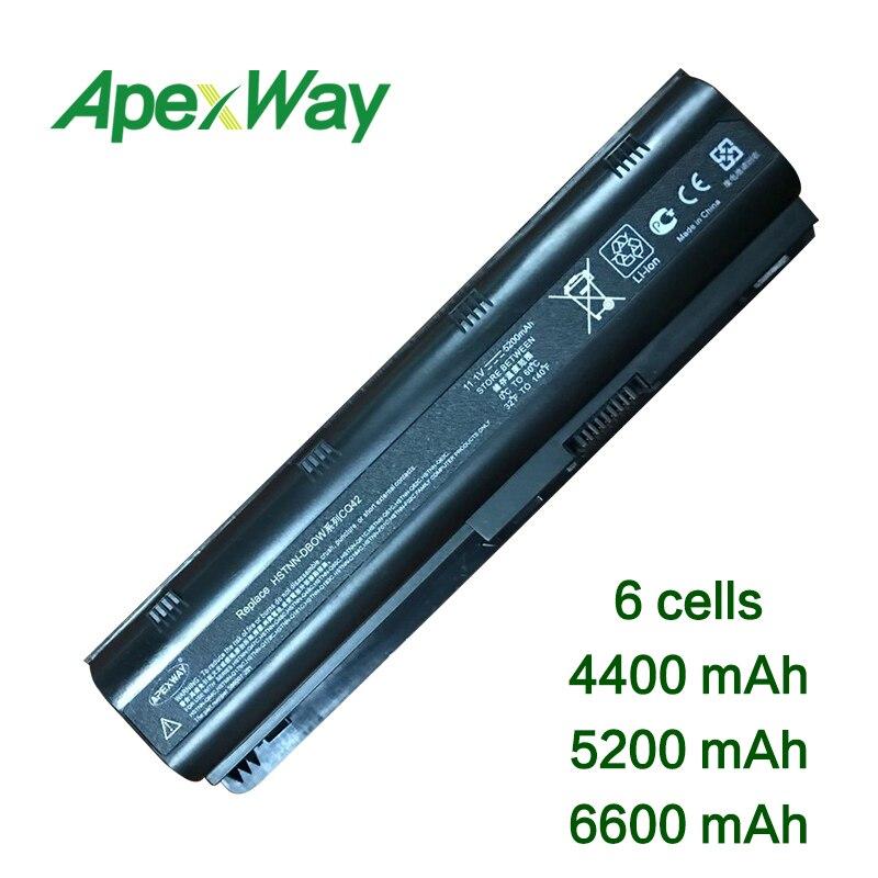 ApexWay 11 1v Laptop battery for HP mu06 593553 001 G6 G4 G7 cq42 dv4 dv6