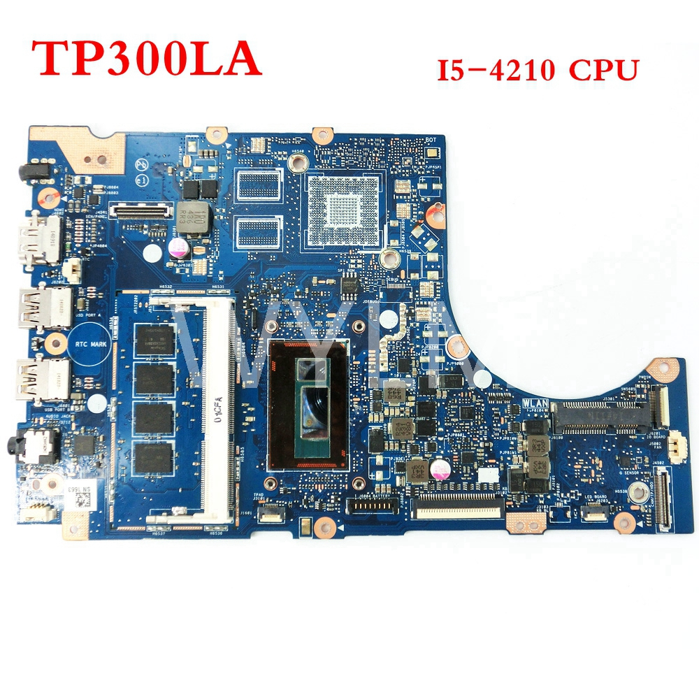FREE SHIPPING TP300LA SR1EF I5-4210 CPU mainboard For ASUS TP300 TP300L TP300LA Laptop motherboard MAIN BOARD 100%Tested Working cd диск stan getz jimmy rowles the peacocks 1 cd