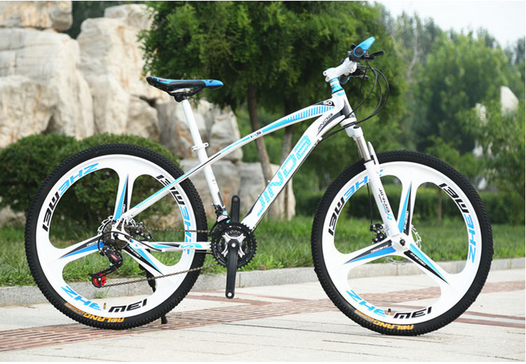 mtb 26 inch mountain bike steel frame bicycle 3 spokes disc brakes can upgrade 24 and