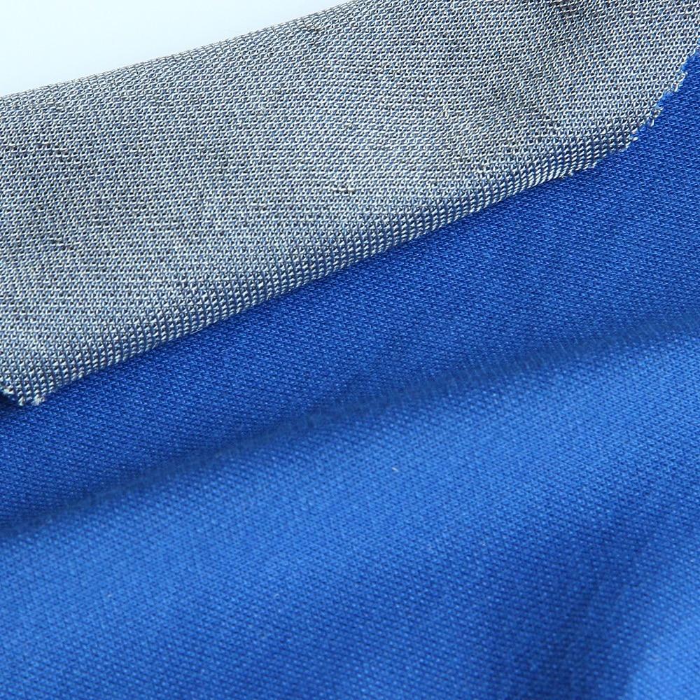 Tissu en fibre d'argent Anti-rayonnement/anti-bactérien pour tissu EMF