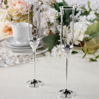 2 PCS Luxury Crystal Wedding Toasting champagne flutes glasses Cup Wedding Party marriage decoration cup for Gift Wine Drink