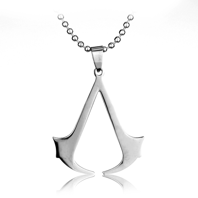Sc hot sale assassins creed rope chain blade pendant necklace gold sc hot sale assassins creed rope chain blade pendant necklace gold assassins creed stainless steel necklace thecheapjerseys Image collections