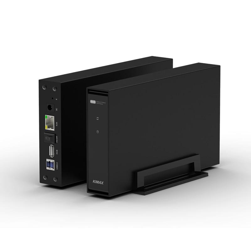 Disque Dur externe Wifi DISQUE DUR Nas Antenne Sans Fil Stockage HDD Sata USB 3.0 wifi hd Interface Boîte En Aluminium 3.5 caddy-en HD