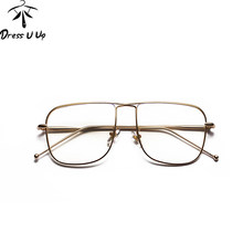829a1ef46a0 DRESSUUP Fashion Square Eyeglasses Woman Brand Designer Eye Glasses Frames  For Women Clear Glasses Lentes Opticos Mujer
