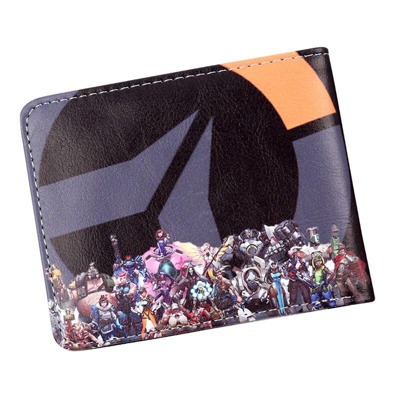 Authentic OVERWATCH D.VA Pink Bunny Bi-Fold Wallet Black Pink NEW