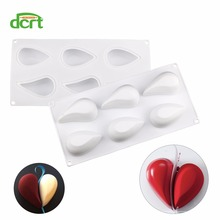 New Love Heart Shape Silicone Mould Cake Molds Mousse Dessert Chocolate Baking Mold Cake Decorating Tools cute 3d eastern bunny silicone rabbit shape cake chocolate desser mold mousse cake mould cupcake topper baking pastry decorating