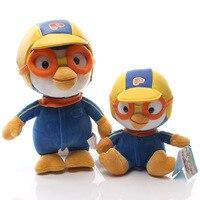 2 sztuk/partia Słodkie Korei Pororo Trochę Pororo Z Okularami Pluszowe Zabawki Penguin Plush Toy Doll Miękkie Pluszaki Zabawki Prezent dla dzieci