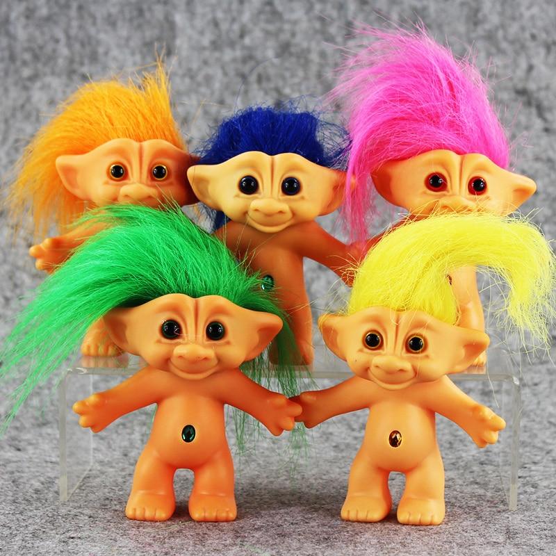 1Pcs Troll Doll Leprocauns Dam Dolls Trolls Poppy Branch DJ Suki Biggie Creek Cooper Figure Toy Gift For Christmas