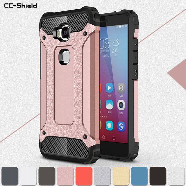 US $3 99 9% OFF|Armor Case for Huawei Honor 5X 5 X KIW L21 KIW L24 KIW L22  Phone Bumper Fitted Case for Huawei Honor X5 KIW L24 Protection Cover-in