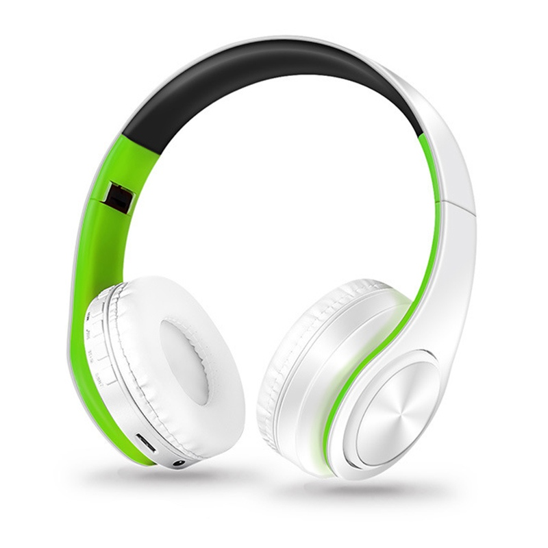Stereo Audio Mp3 Bluetooth Headset Foldable Wireless Headphones Earphone support SD card with Mic
