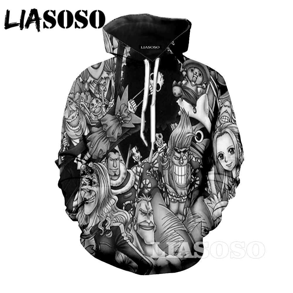 LIASOSO 3d printed men 3D Unisex Sweatshirt Men Brand Hoodie Comic Casual Tracksuit Fashion Hooded Pullover Streetwear