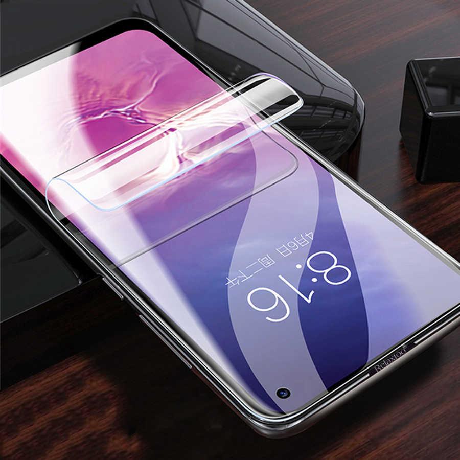 Фото Силиконовый ТПУ Гидрогелевая наклейка пленка для samsung Galaxy S10 S9 S8 PLUS S10E Note 9 8 A50 A7 2018