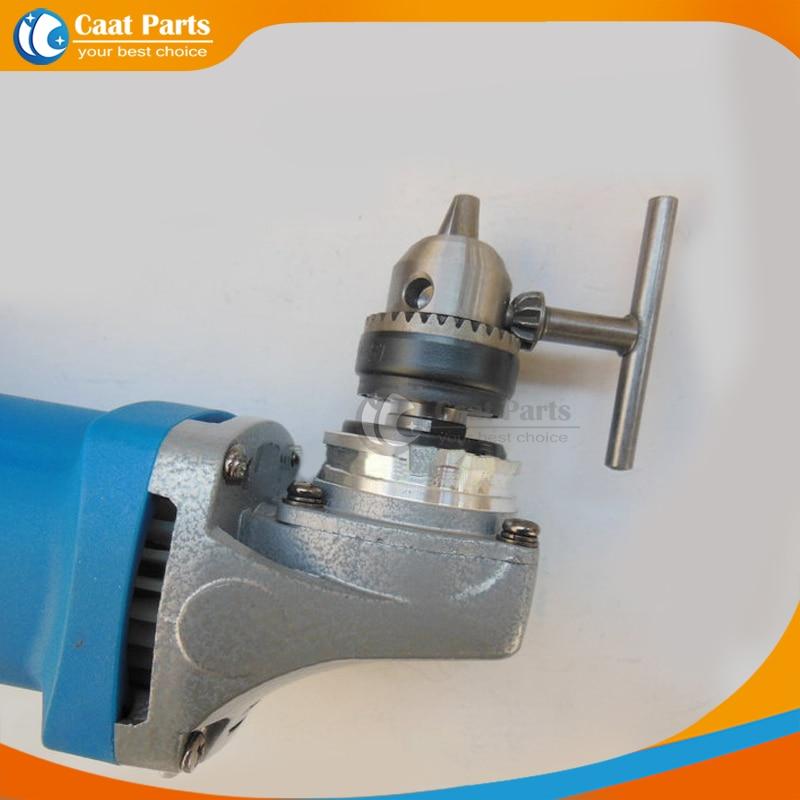 Tasuta saatmine! 1,5-10mm nurklihvija spetsiaalne puurvarras võtmega - Elektritööriistade tarvikud - Foto 2