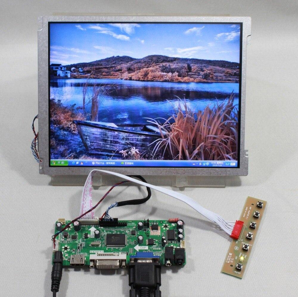 HDMI VGA DVI Audio lcd Controller board 10.4inch M104GNX1 1024x768 lcd panel details about hdmi vga dvi audio controller board 12 1inch ac121sa01 800 600 lcd panel