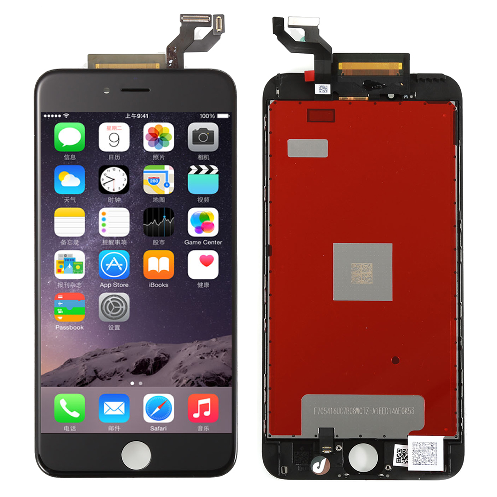 LCD Display For Apple iPhone 6S Plus LCD Touch Screen With Digitizer Assembly, Black Free Shipping !