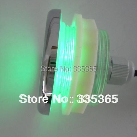 4pcs waterproof led RGB underwater led lamp spa led bath tub light ...