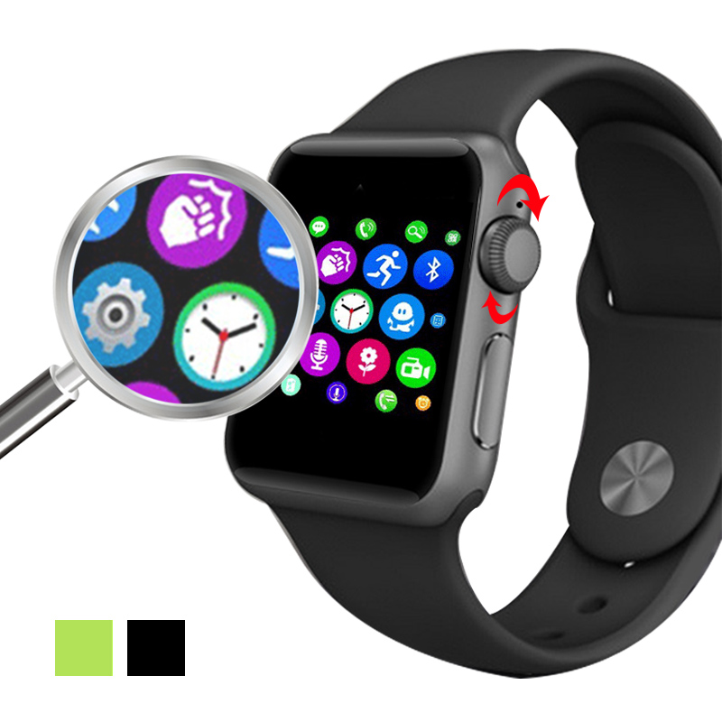2016 LF07 Bluetooth Smart Watch 2 5D ARC HD Screen Support SIM Card Wearable Devices font