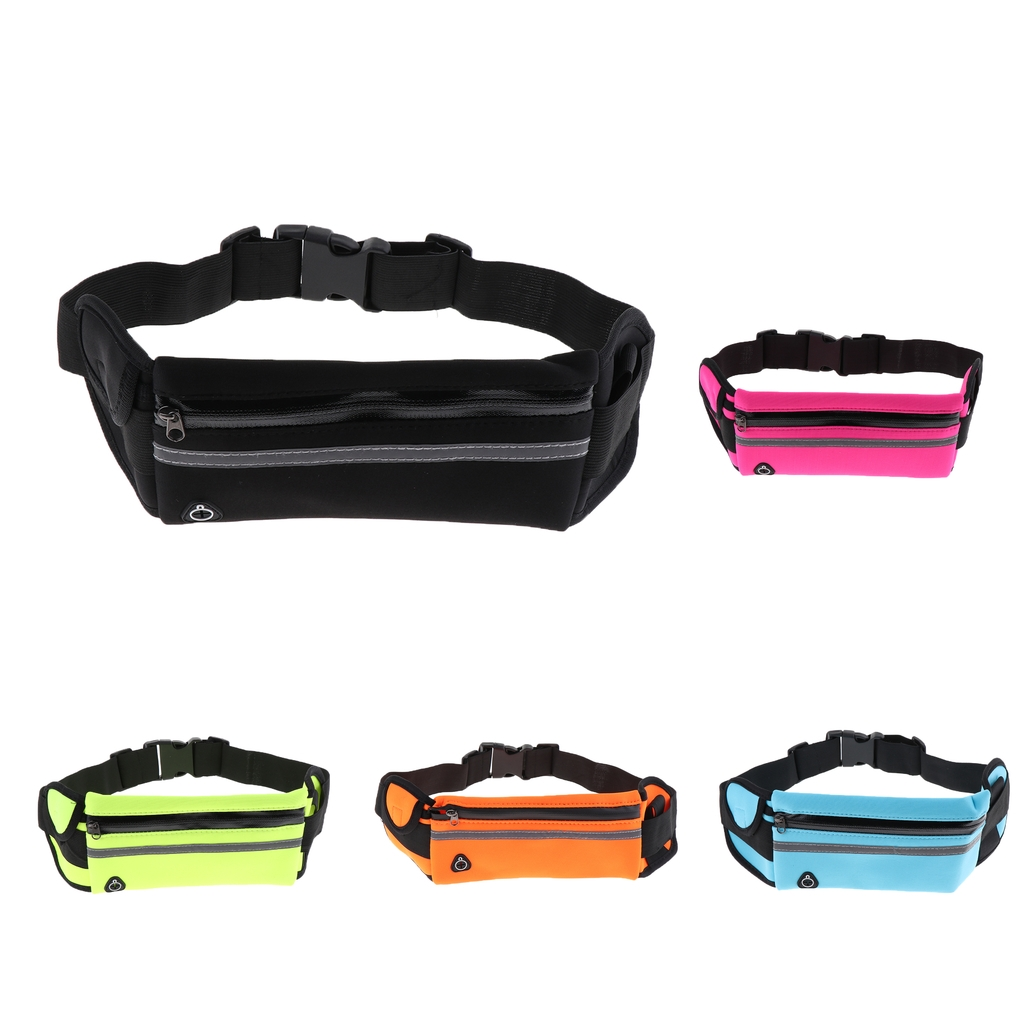 Professional Running Waist Bag Men Women Gym Jogging Sport Bag Unisex Cycling Belt Fanny Waist Pack For Mobile Phone Keys Money