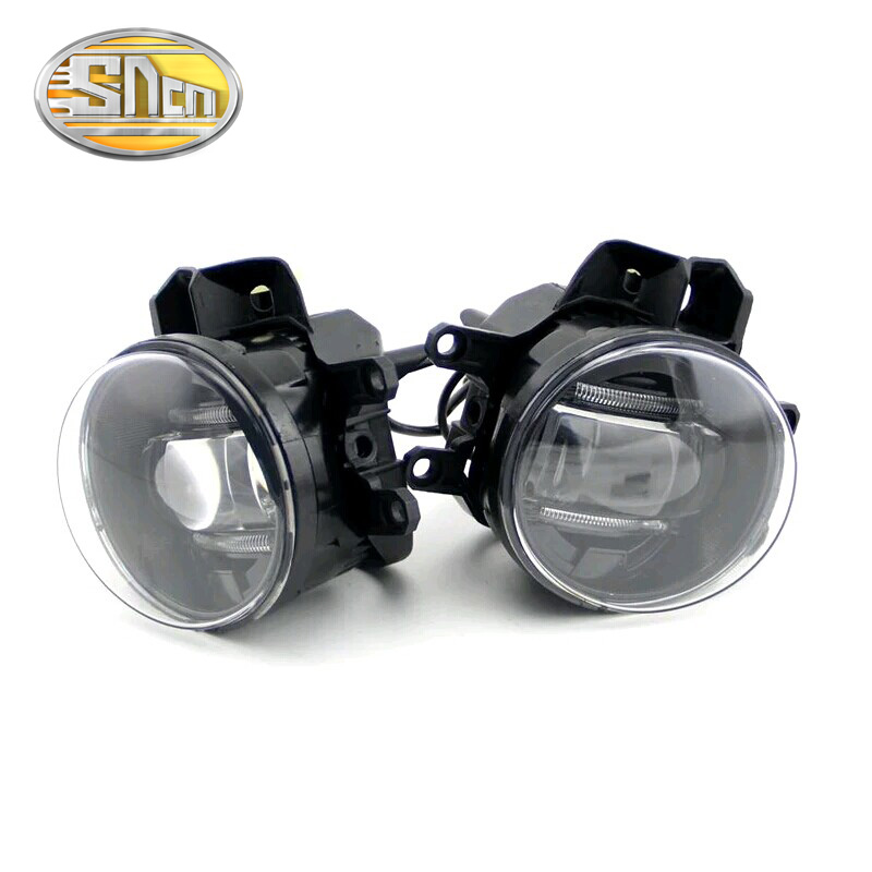 Car Accessories Double Guide Light LED Daylight High Power LED FogLight Fog Lamp For <font><b>Toyota</b></font> <font><b>Sienna</b></font> Tacoma Urban Cruiser