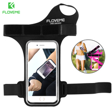 FLOVEME Universal Sport Arm band For iPhone 6 7 6S Case Cycling Thumb Arm band For Samsung Galaxy S8 S7 Huawei P10 Xiaomi Mi6 6